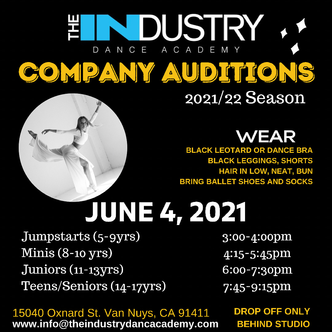 COMPANY AUDITIONS 2021/22